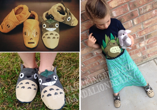 totoro shoes
