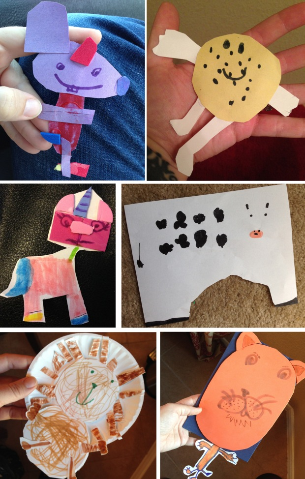 paper creatures