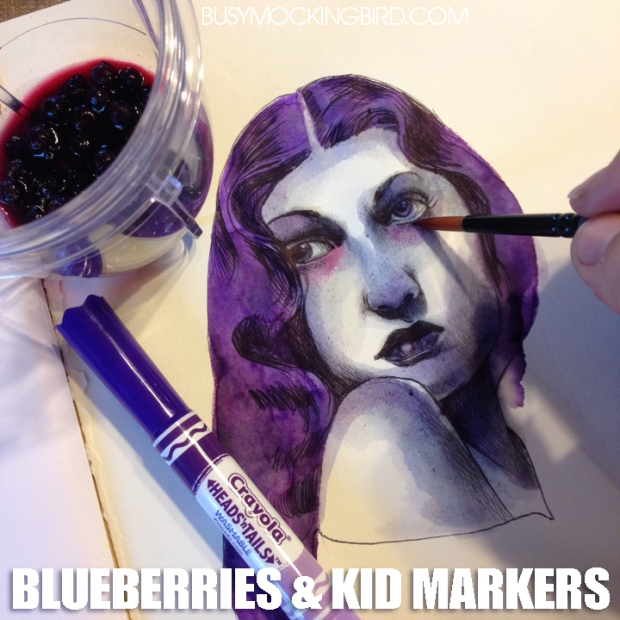 BLUEBERRIES N MARKERS