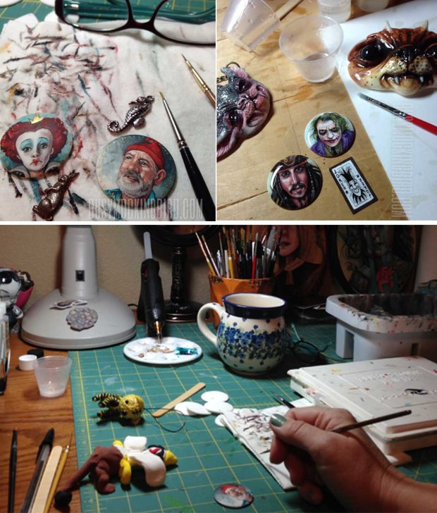 tiny portraits-work