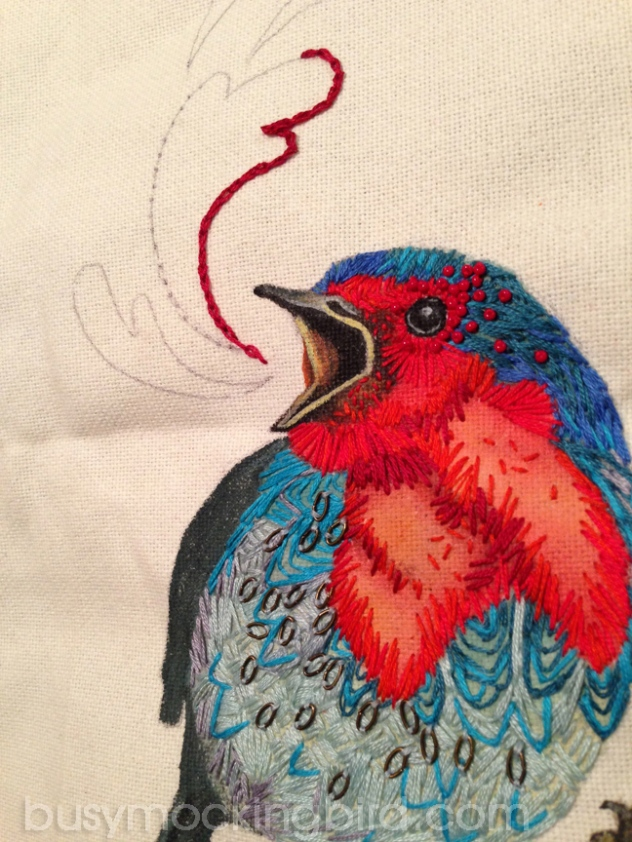 embroidered-bird