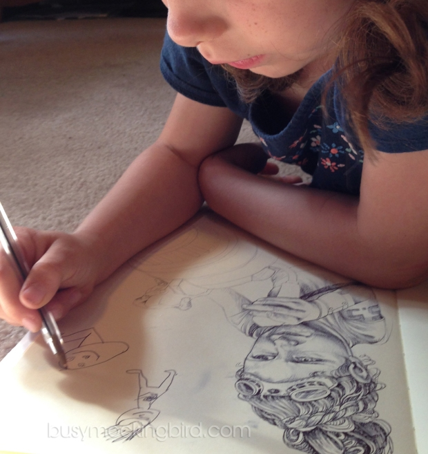 how to keep 6 year old busy