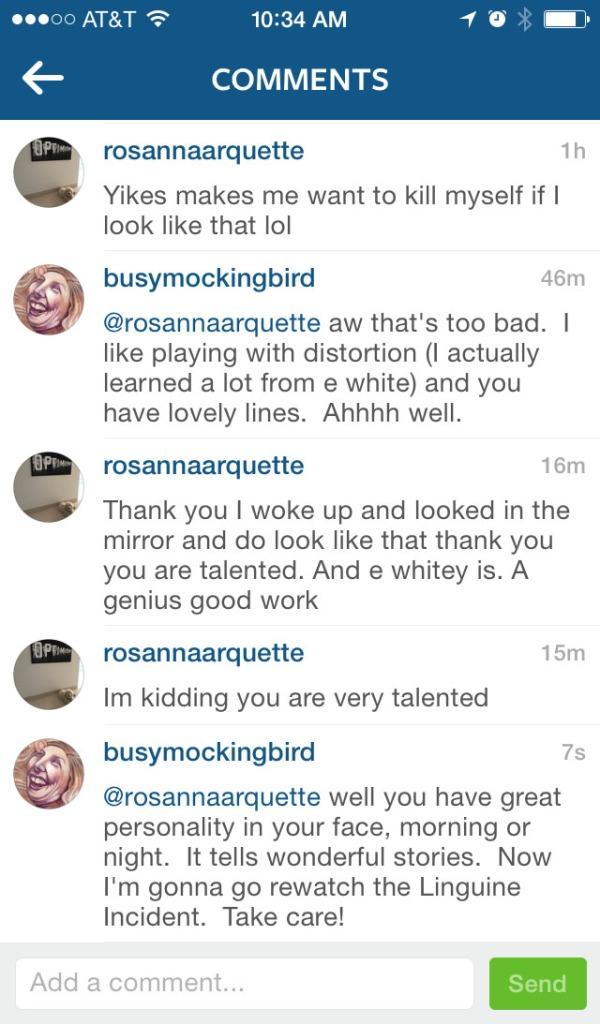 rosanna comment