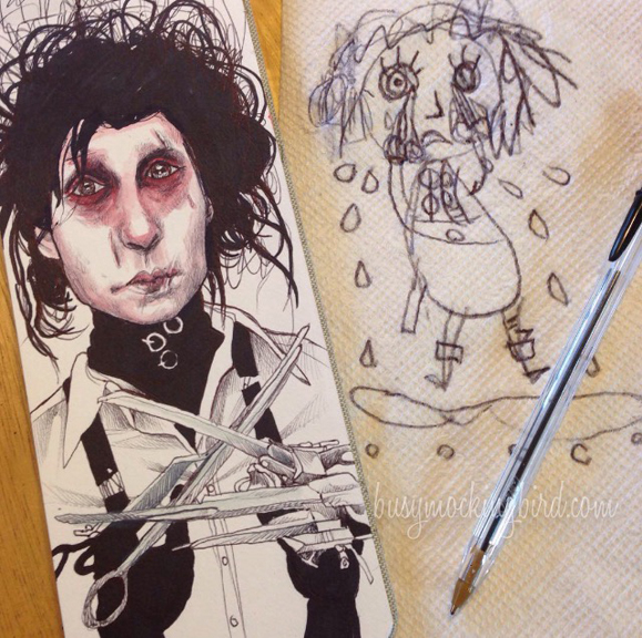 6 edward scissorhands