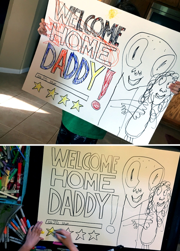 daddy sign